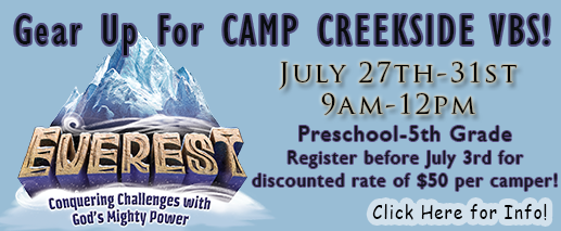 Camp Creekside 2015 Button