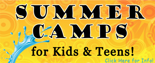 Summer Camp banner button