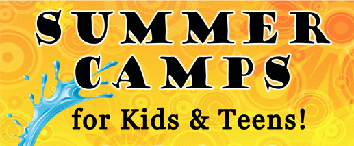 Summer Camp banner header